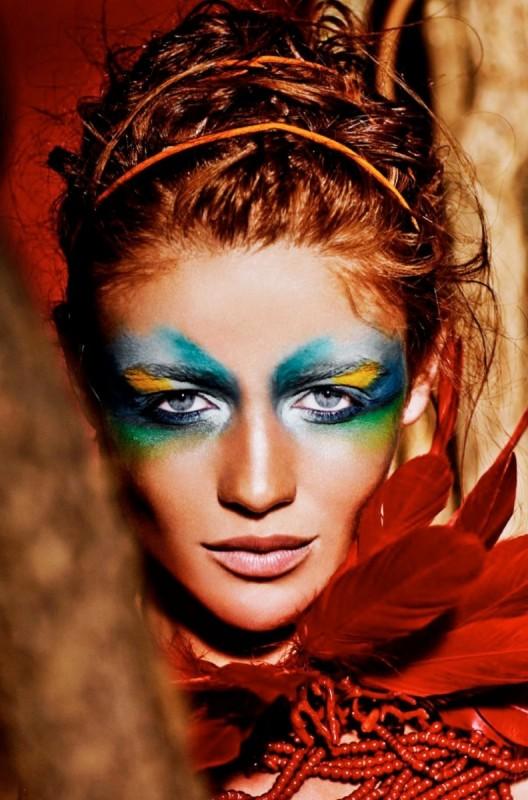 Бразильский макияж