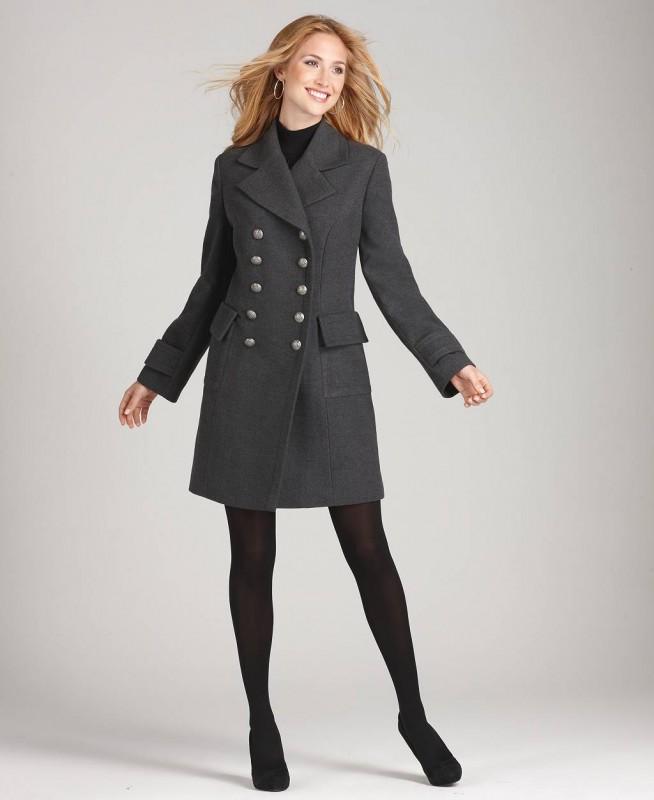 Карманы в пальто