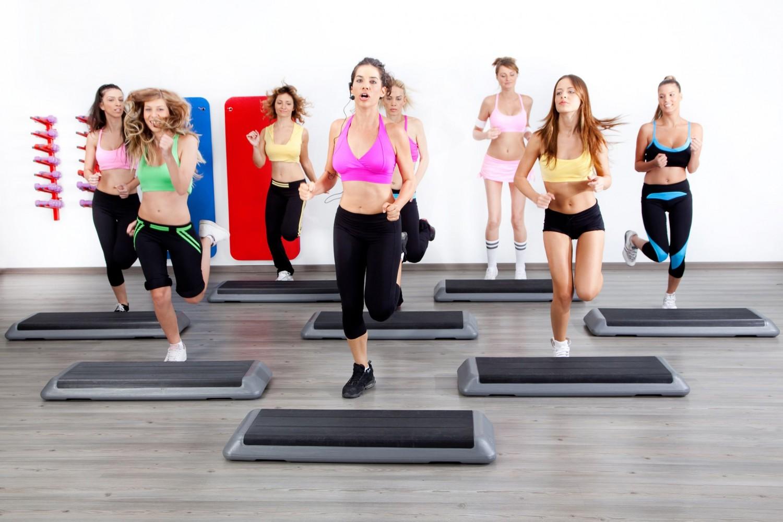 Фитнес на степе