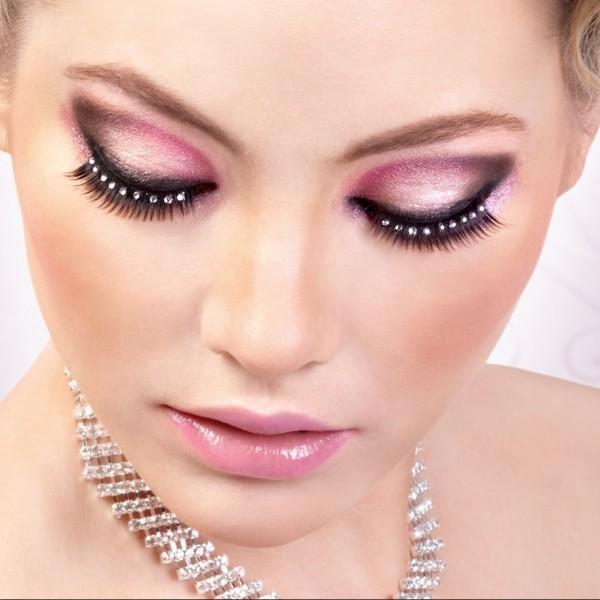Домашний макияж глаз