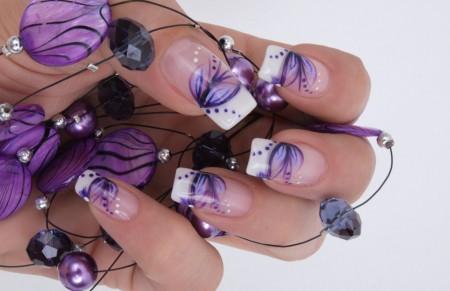 Модные цвета ногтей лета 2018