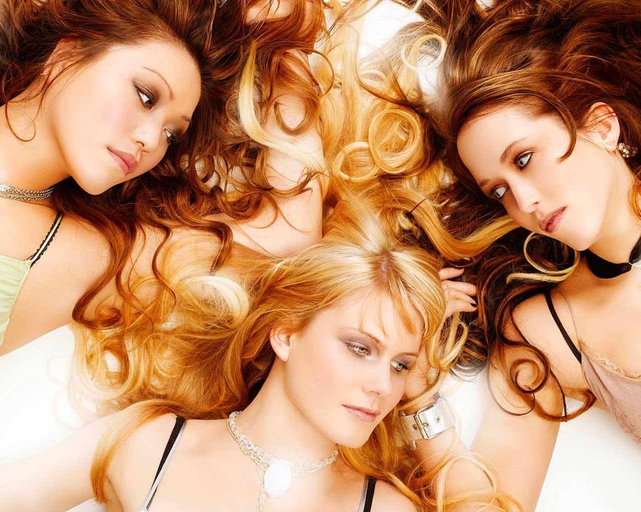 Опрос про цвет волос