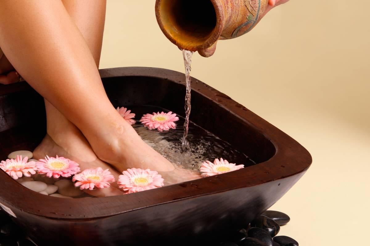 Ванночки для ног чтобы ноги не горели