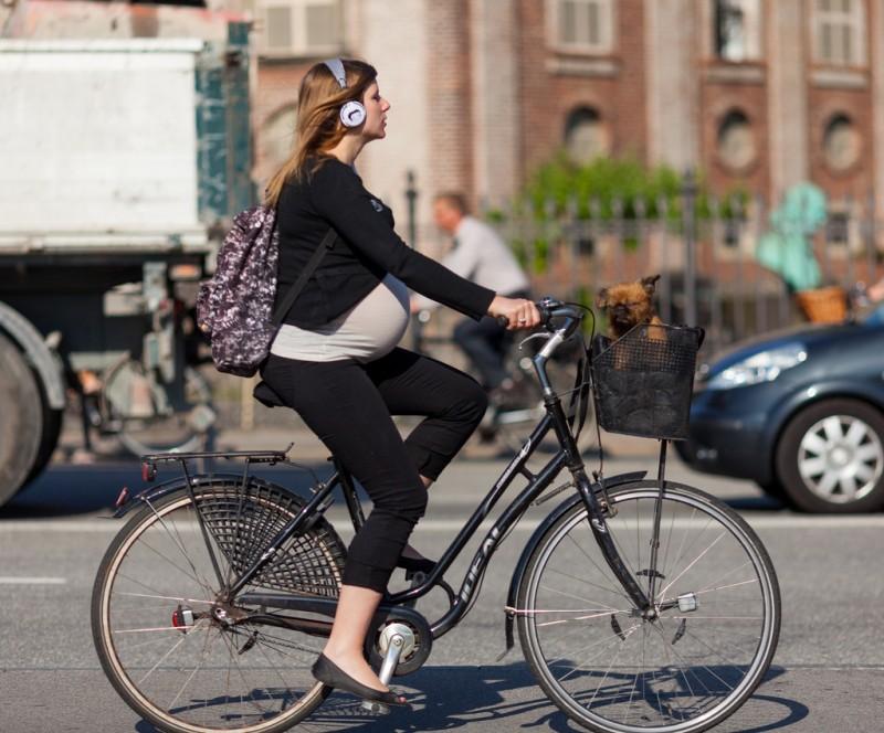 Велосипед полезен для здоровья